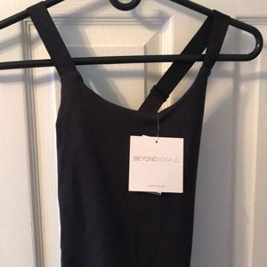 Double Crossed Cami NWT Black